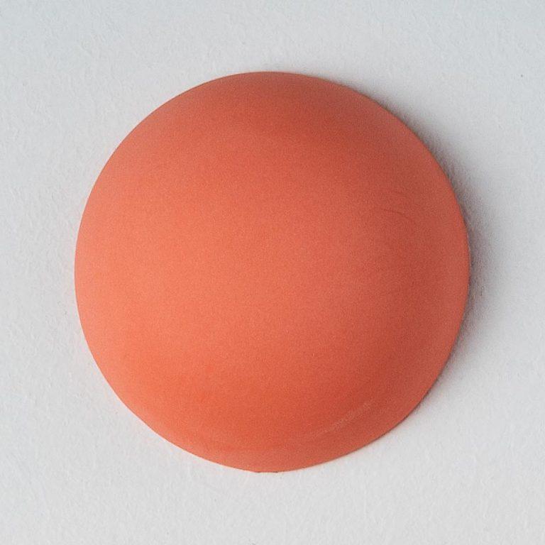 Stain Sample: 100% Orange, 0% Turqoise, 0% Pink