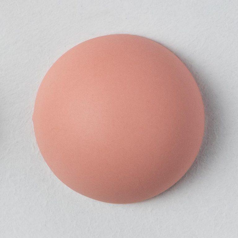Stain Sample: 20% Orange, 0% Turqoise, 80% Pink