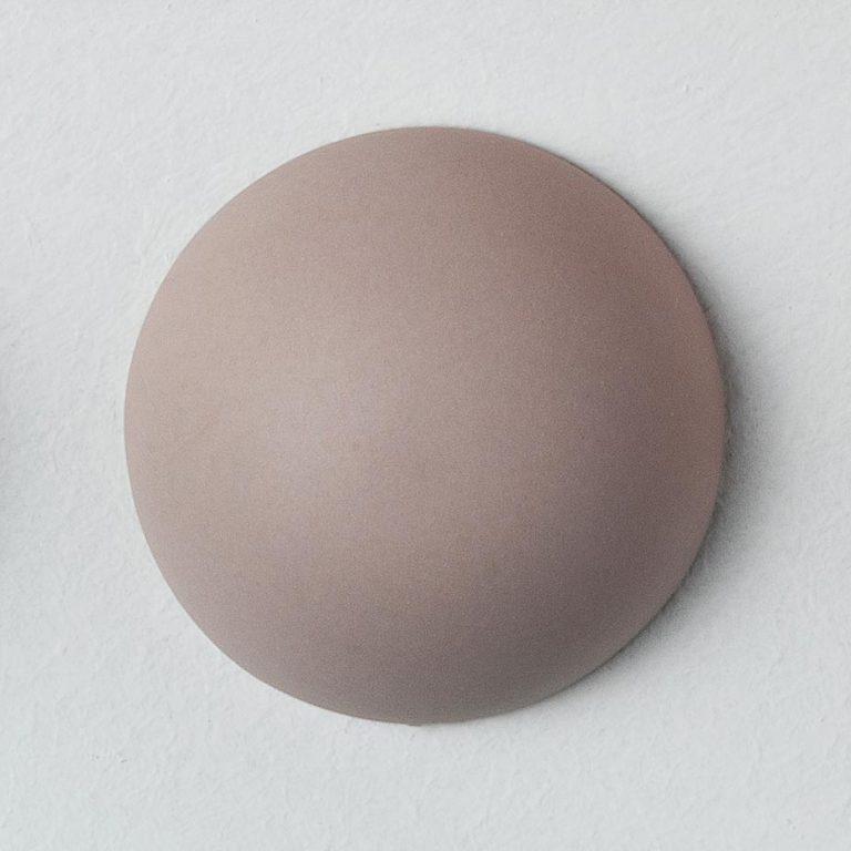 Stain Sample: 20% Orange, 40% Turqoise, 40% Pink