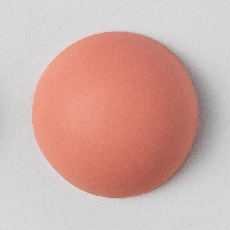 Stain Sample: 40% Orange, 0% Turqoise, 60% Pink
