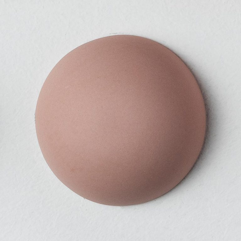 Stain Sample: 40% Orange, 40% Turqoise, 20% Pink