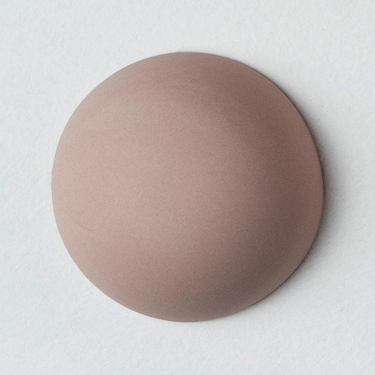 Stain Sample: 40% Orange, 60% Turqoise, 0% Pink