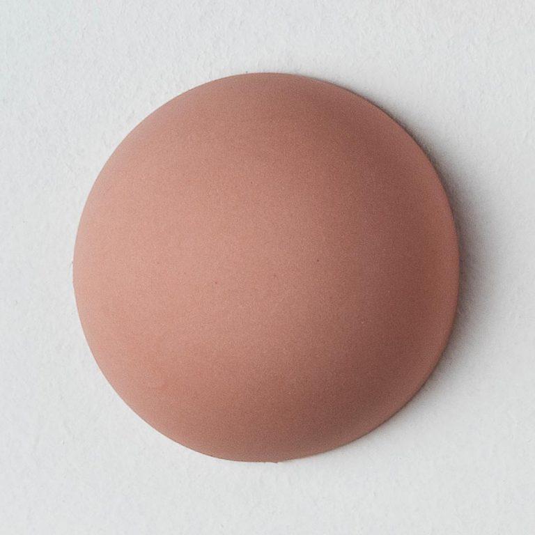 Stain Sample: 60% Orange, 40% Turqoise, 0% Pink