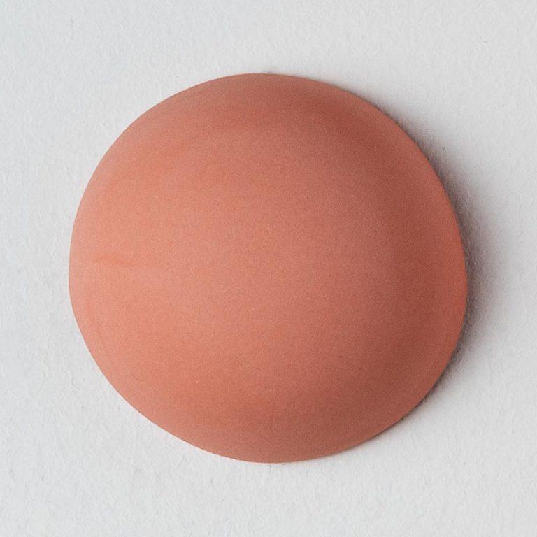 Stain Sample: 80% Orange, 20% Turqoise, 0% Pink